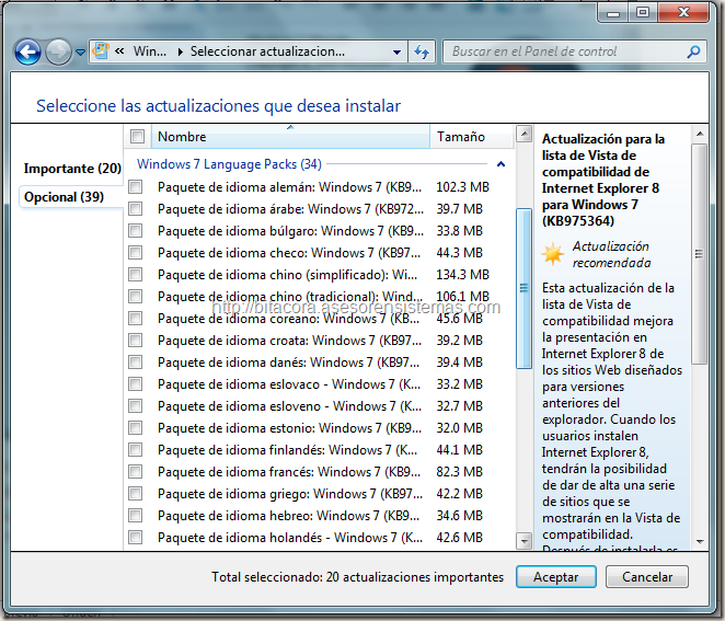 MUI Windows 7