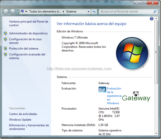 cambiar idioma de windows